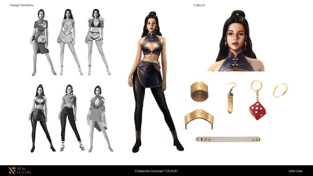 Character Cecilia