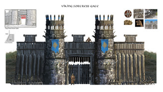 Viking Fort Gate
