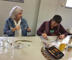 June mini workshop-3-Kathy&Mandy