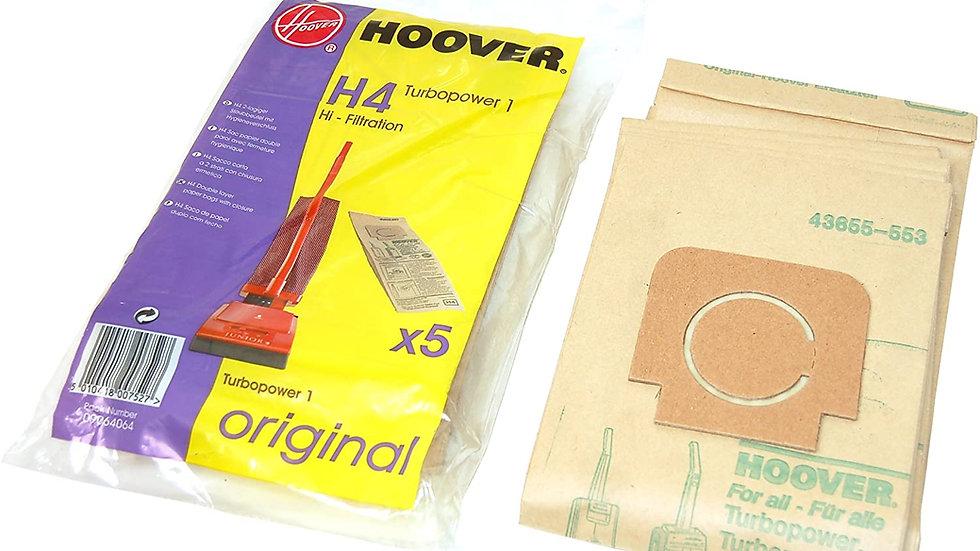 Hoover H4 Vacuum Cleaner Bags