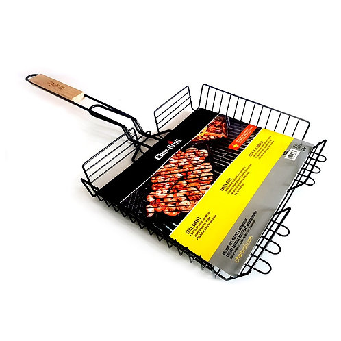 Char-Broil Non-Stick BBQ Grill Basket with Handle