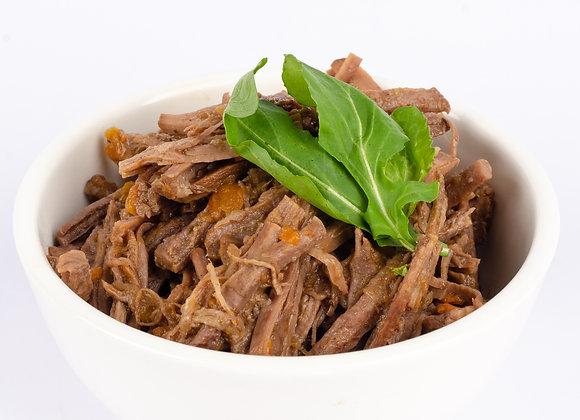 Carne mechada deshilachada