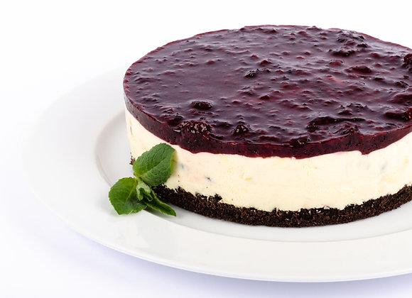 Kuchen de Maracuyá y frambuesa