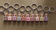 Perfume Bottle Keychains