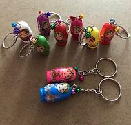 Russian Doll Keyrings