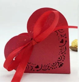 Heart Shaped Favour Boxes