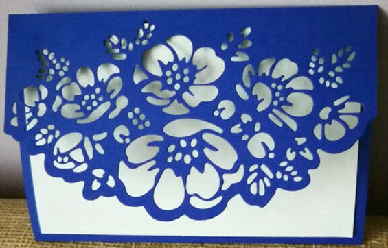 Lace Border for Card Crafts