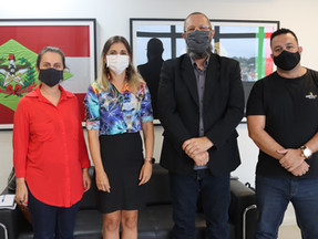 Diretores do SINPOL-SC se reuniram com a Diretoria de Polícia da Grande Florianópolis