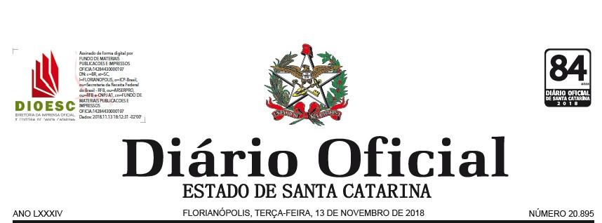 DIÁRIO OFICIAL – ATO DE APOSENTADORIA DESFEITO