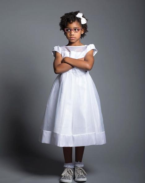 CHILDREN SILK PRESS + TRIM