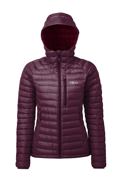 Rab Ladies Eggplant Microlight Alpine Jacket