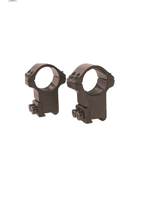 TWO PIECE HIGH ECONOMY MOUNT BY RICHTER OPTIK