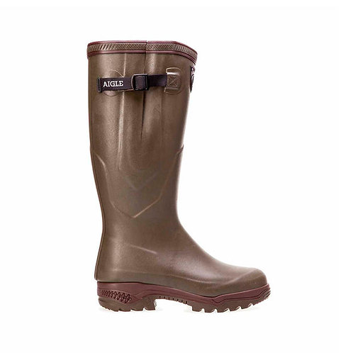 Aigle Khaki Parcours 2 Iso Welly Boots