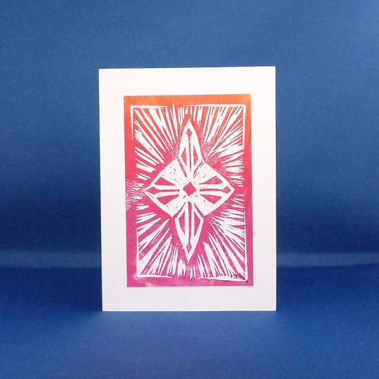 Star Card - Red