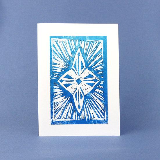 Star Card - Blue