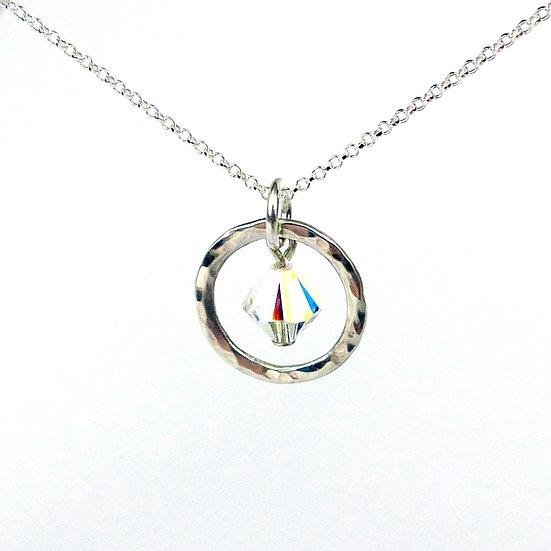 Swarovski Crystal Handmade Pendant Necklace