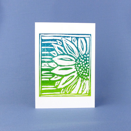 Sunflower Card - Spring