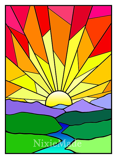 Sunrise - Original Art Giclée Print