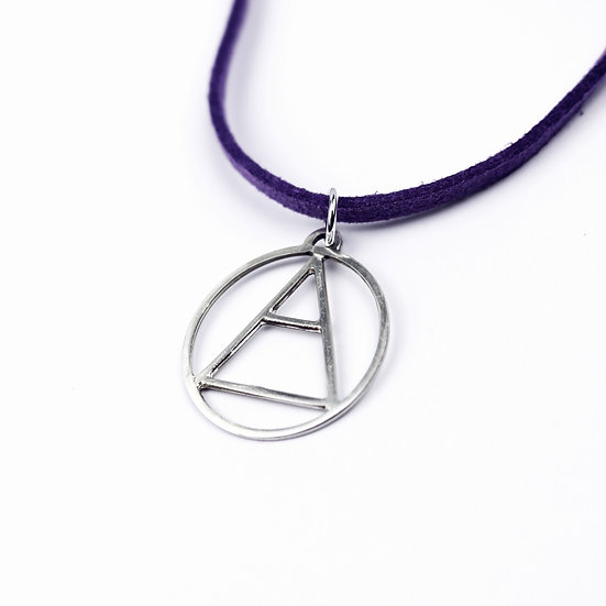 'Air' Handmade Sterling Silver Element Pendant Necklace