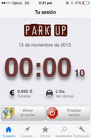 iOS App   Park'up