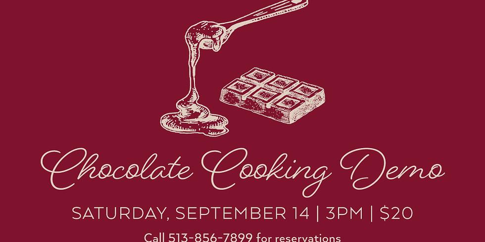 Cholcolate Cooking Demo
