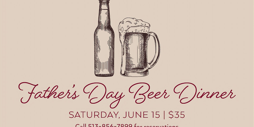 Father's Day Beer Dinner