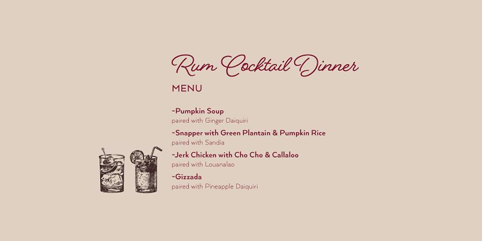 Rum Cocktail Dinner