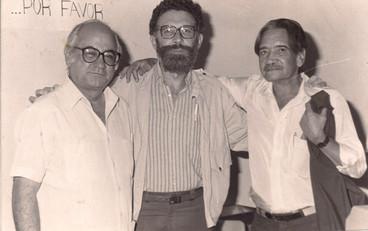 Jesús Sanoja, Marcelino Bisbal, Carlos Rebolledo