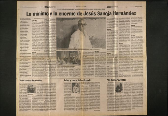 27-Lo m+¡nimo y lo enorme de Jes+¦s Sano