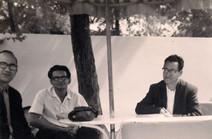 JSH, J. Enrique Guedez y Aníbal Nazoa