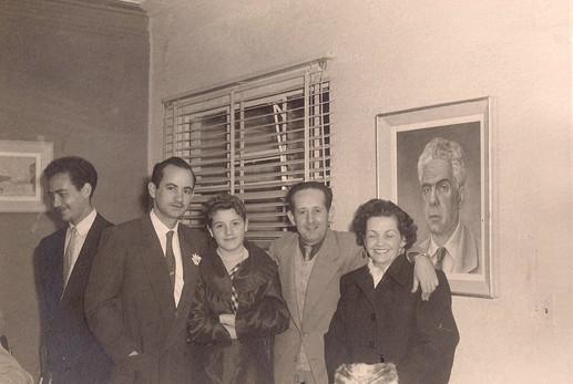 Sanoja y María Eugenia, Fernando y Graciela Key