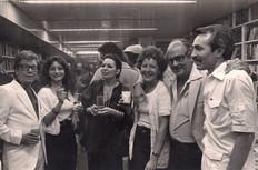 Hugo Batista, Vilma Lehmann, Irama Neri, los Sanoja, poeta Acevedo