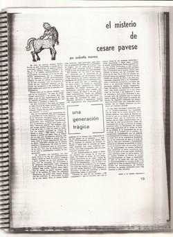 El misterio de Cesare Pavese