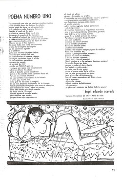 Poema numero I