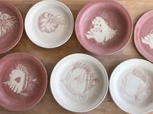 Jedes Keramikstück ist ein Unikat, mit viel sorgfalt und Aufwand handgefertigt.