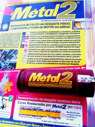 BLISTER METAL2 REPARADOR MOTORES