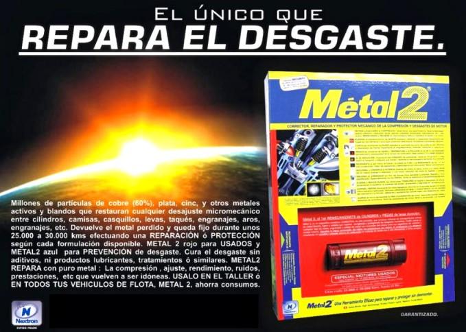 METAL2 REPARA DESGASTE