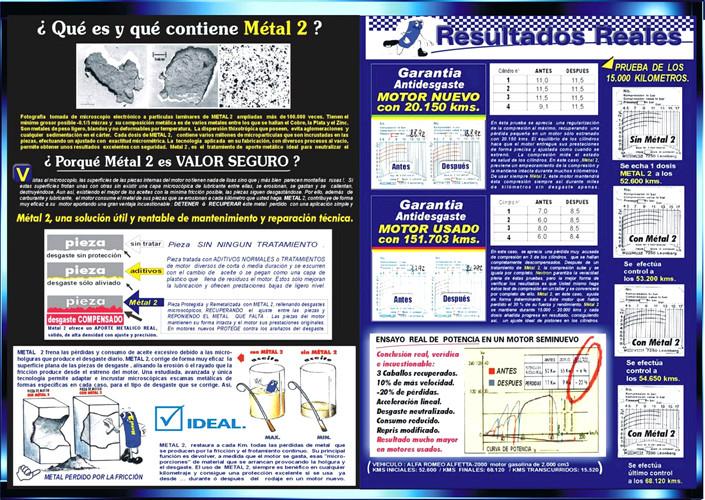 METAL2 TECNOLOGIA REPARADORA MOTORES