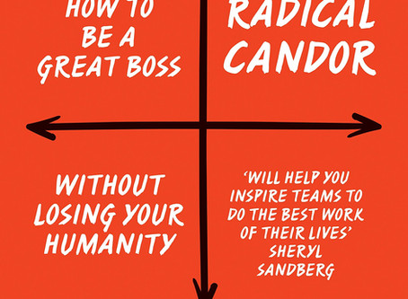 2019 Reflections and Radical Candor