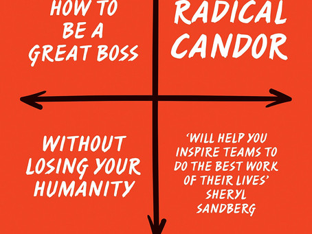 2019 Reflections and Radical Candor