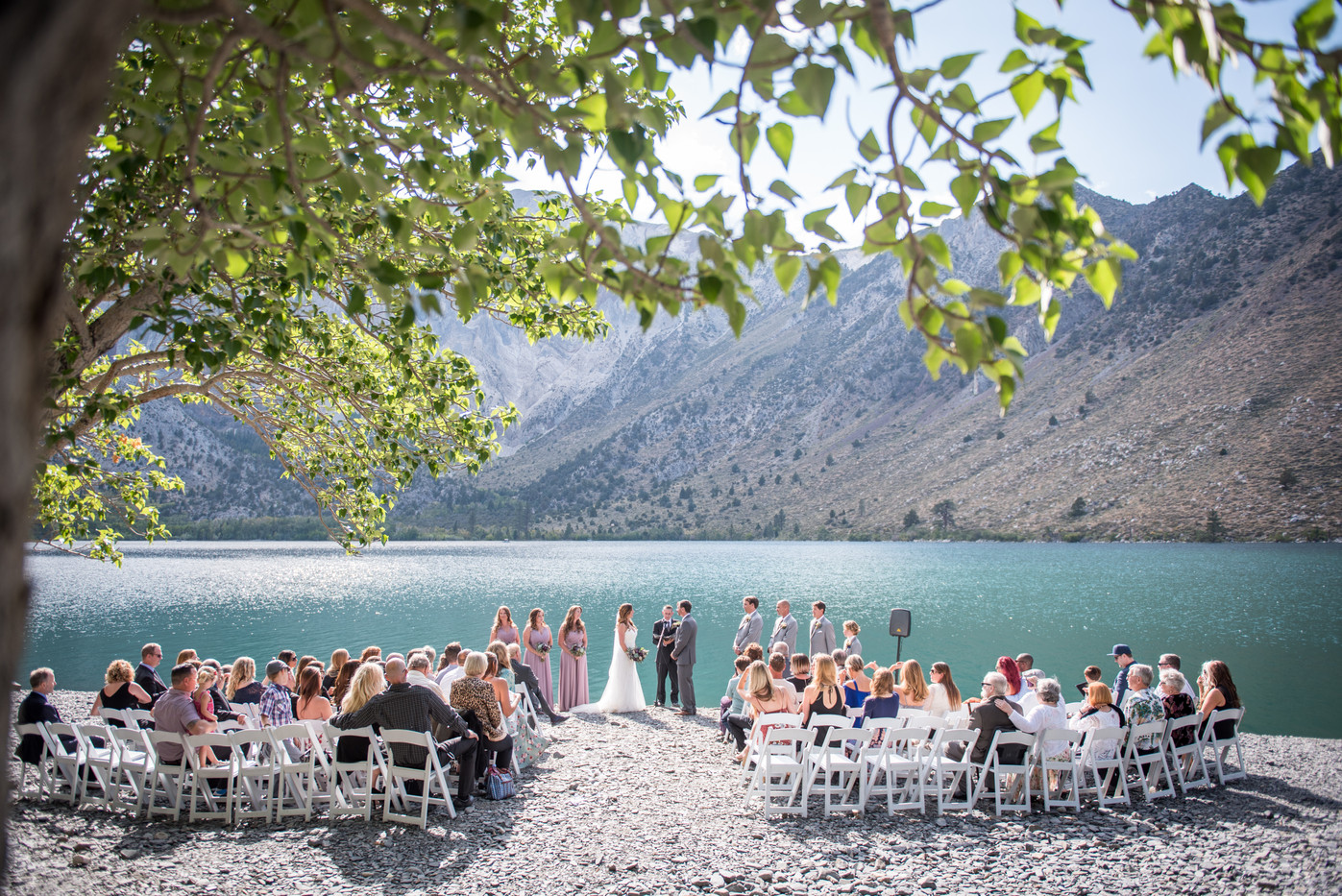 Convict Lake Wedding