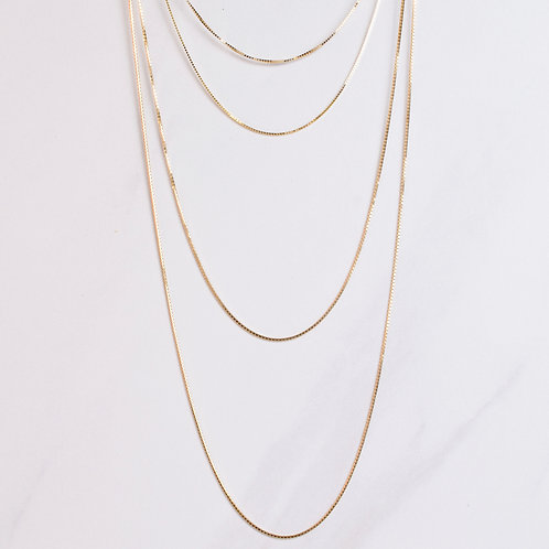 Chain Necklace - 14KT yellow gold
