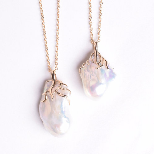 Oversized Baroque Pearl Drop