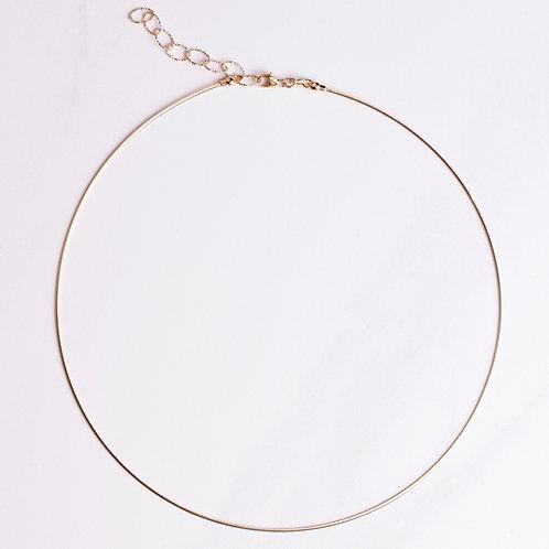 Collar - 14KT yellow gold