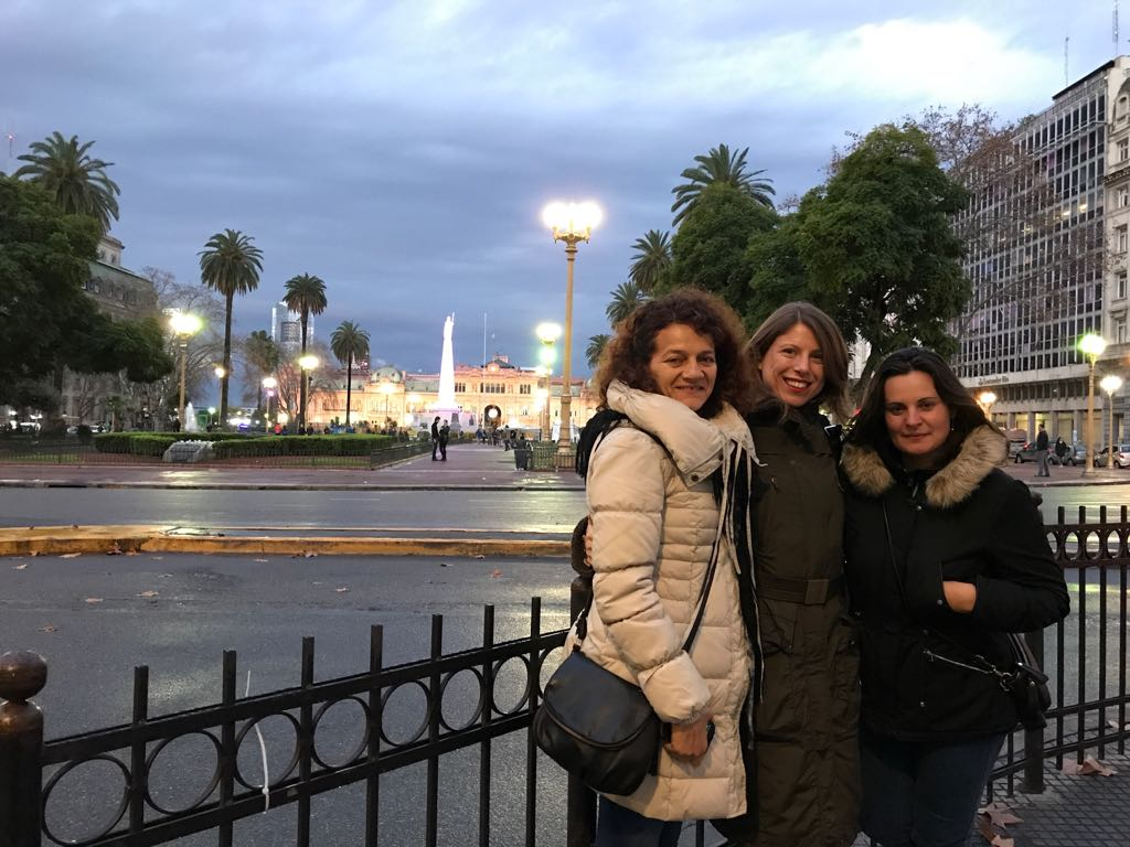 Casa Rosada e Plaza de Mayo
