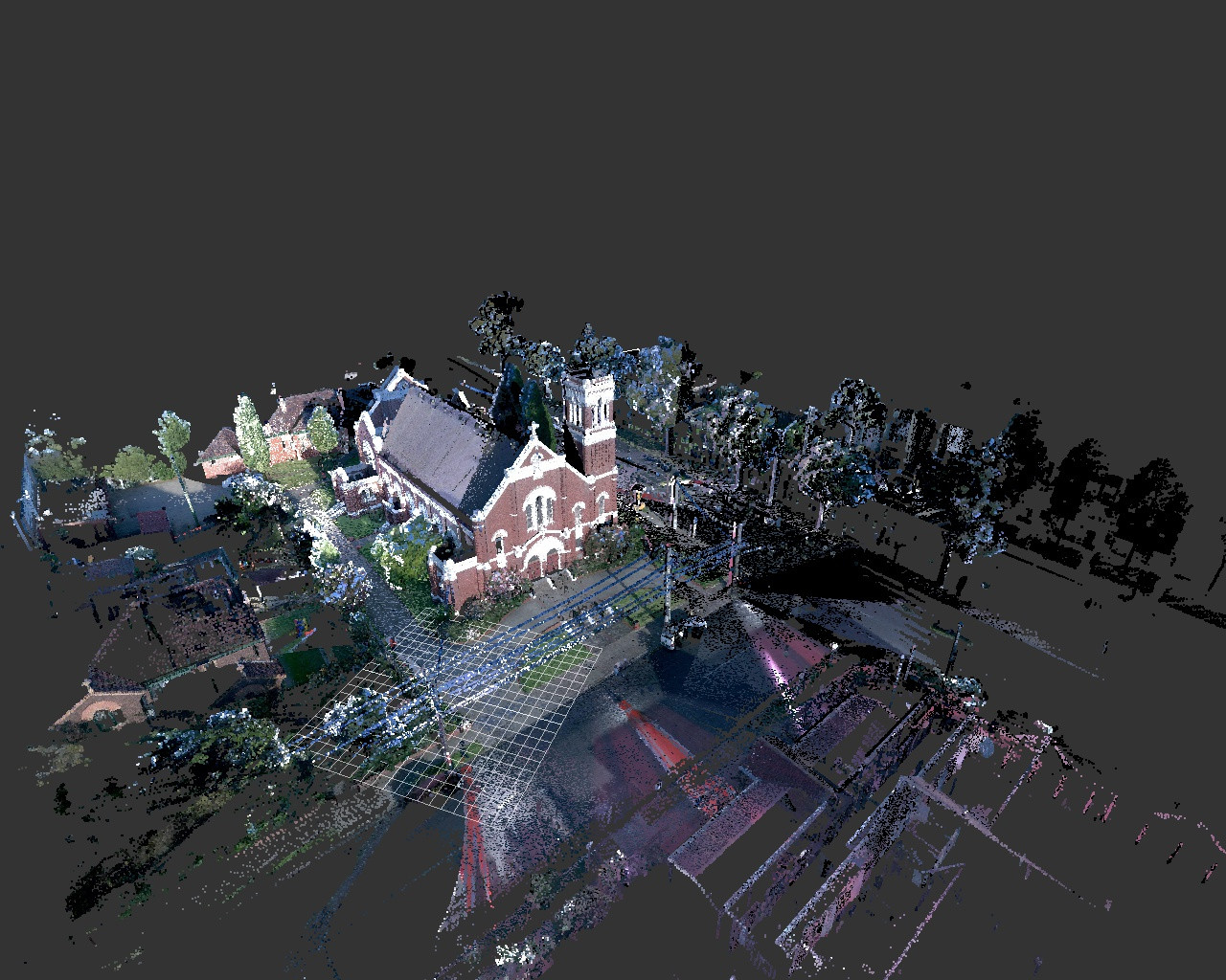 3D Laser Scanning to Point Cloud for Heritage