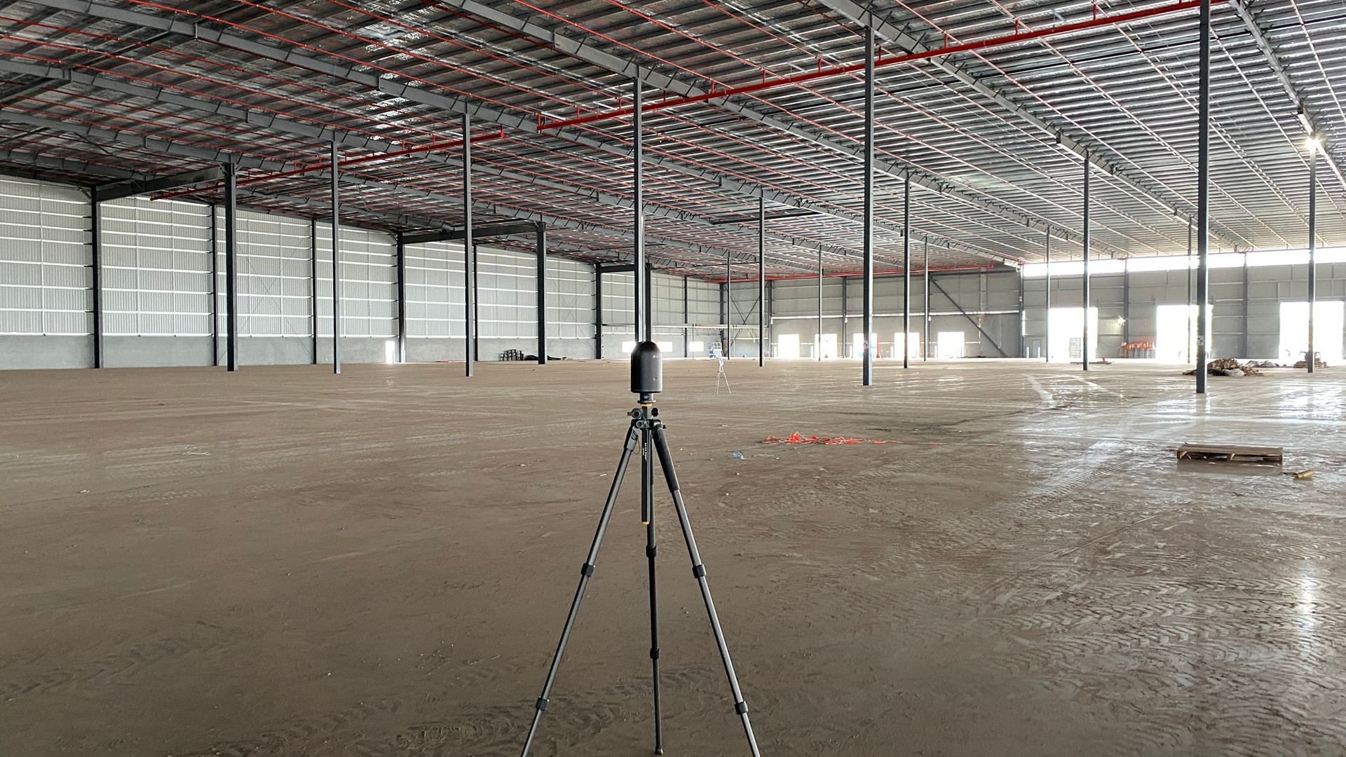 3D Laser Scanning for Industrial Facility