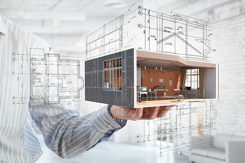 Site measure, prepare existing conditions drawings in CAD and Revit format