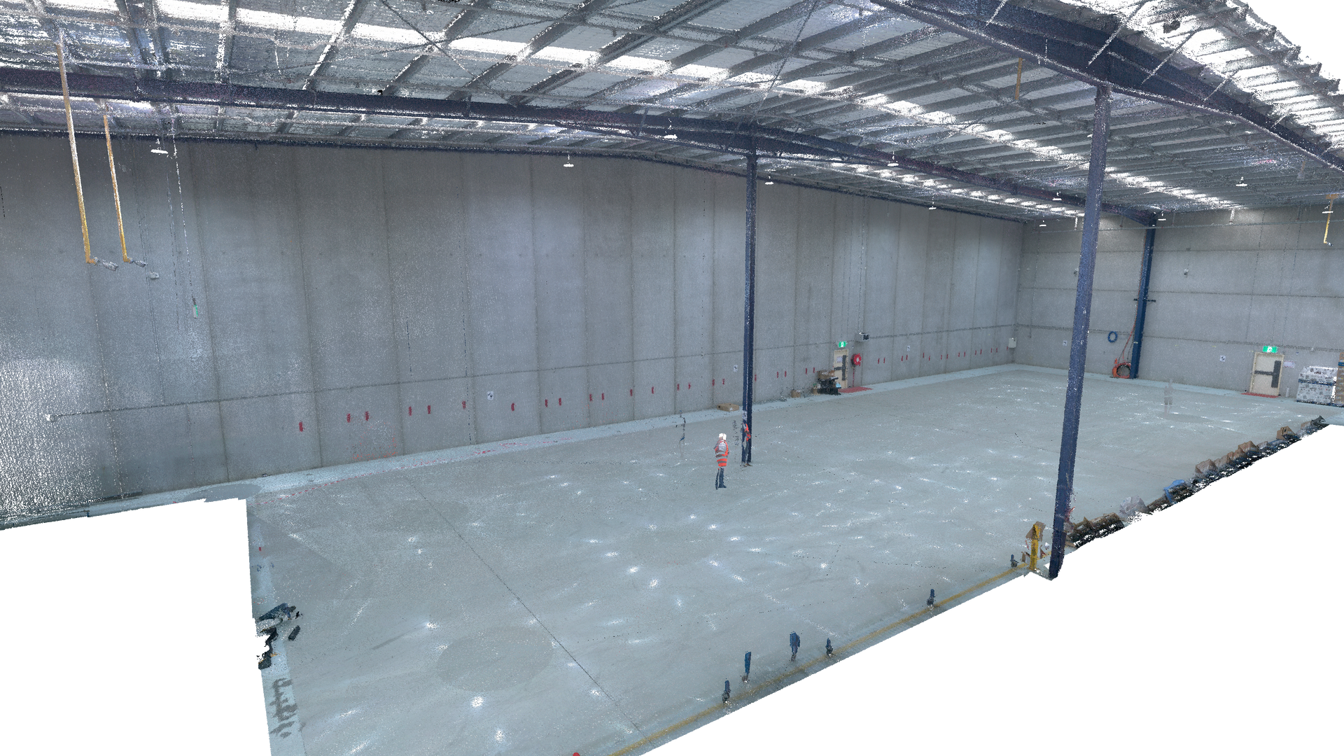 3D Laser Scanning & BIM Drafting for Industrial Facility