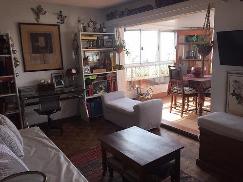 Apartamento 1 Dorm y 1/2 Pent House Lleno de Sol